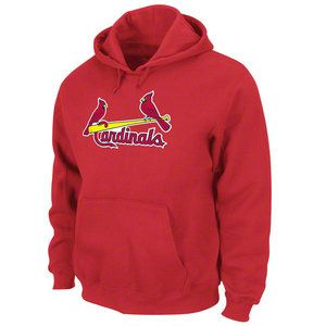 MLB - St. Louis Cardinals Red Tek Patch Hooded Sweatshirt