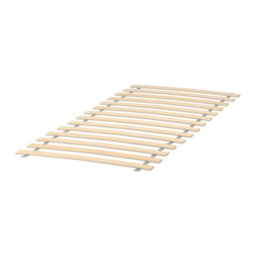 Luroy Slatted Bed Base 27 1 2x63 With Images Bed Slats Bed