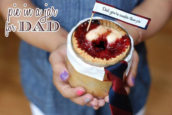 Pure Joy Events: Tutorial: Pie in a Jar for Dad
