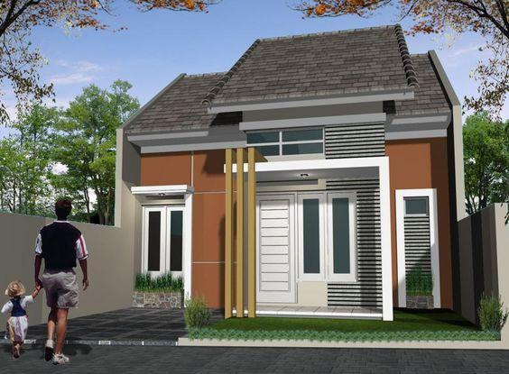 warna cat kombinasi minimalis sederhana rumah minimalis