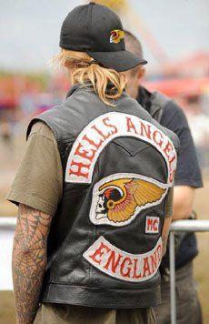 Motorcycle Gang Women | Hells Angel Road Master: Seven members of the Outlaws motorcycle gang ...