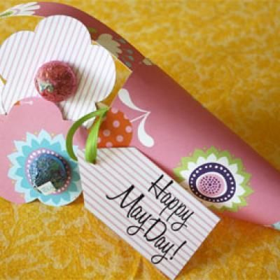 fun and easy May Day basket