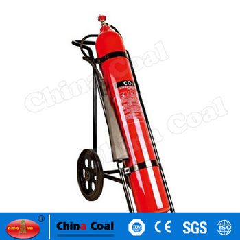 chinacoal03 MS-FE-02 Small Carbon Dioxide Fire Extinguishers Carbon Dioxide extinguishers are filled with non-flammable carbon dioxide gas under extreme pressure. You can recognize a CO2 extinguisher by its hard horn and lack of pressure gauge. The pressure in the cylinder is so great that when you use one of these extinguishers, bits of dry ice may shoot out the horn. CO2 cylinders are red and range in size from 5 lbs to 100 lbs or larger. In the larger sizes, the hard horn will be located…