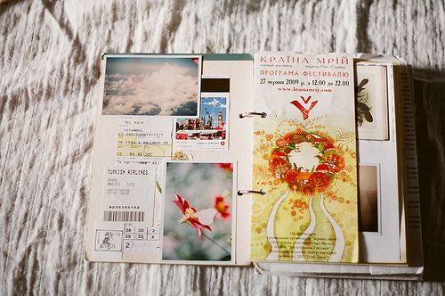 I love this travel journal by inmost_light, via Flickr