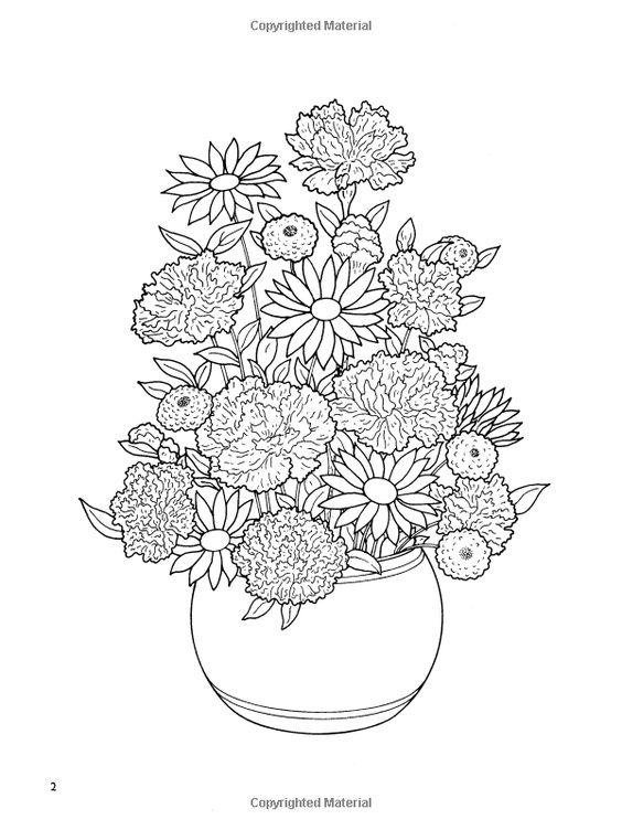 Pin de özgür öztürk en Flower Coloring 2 | Pinterest | Colorante ...