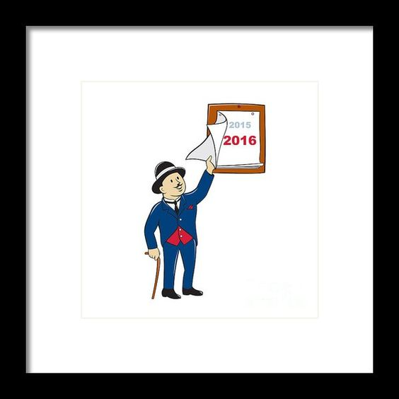 ... 2016 calendar and more bowler hat framed prints 2016 calendar calendar