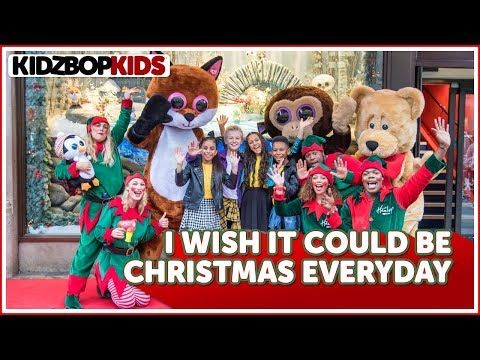 Kidz Bop Kids I Wish It Could Be Christmas Everyday Official Hamleys Video Youtube Kidz Bop Christmas Toy Parade Bop