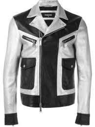 「leather jacket white black Checkered」の画像検索結果