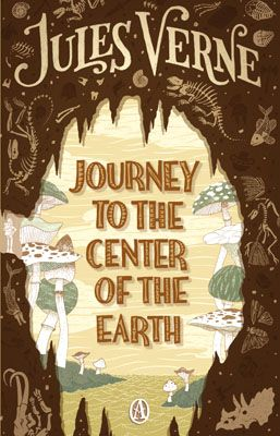 "journey to the center of the earth -jules verne- The book was inspired by Charles Lyell's Geological Evidences of the Antiquity of Man of 1863 (and probably also influenced by Lyell's earlier ground-breaking work ""Principles Of Geology"", published 1830–33)"