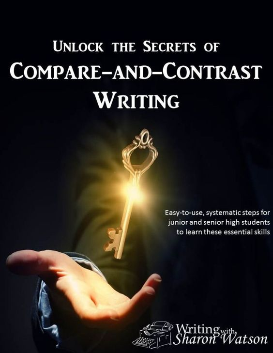 Students learn how to compare and contrast in this 10-lesson eBook. Three solid methods with example essays. Answers included.