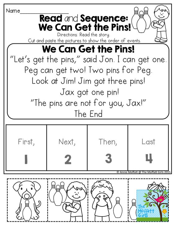 Similiar Kindergarten Sequencing Cut And Paste Keywords
