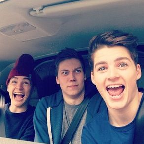 Jack and Finn and Will << I often worry about Jack