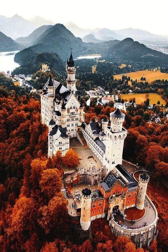 Neuschwanstein Bayernschloss Architecture Sightseeing Deutschland Landscapre Southern Seasonal V 2020 G Zamki Germanii Mesta Dlya Posesheniya Zamechatelnye Mesta