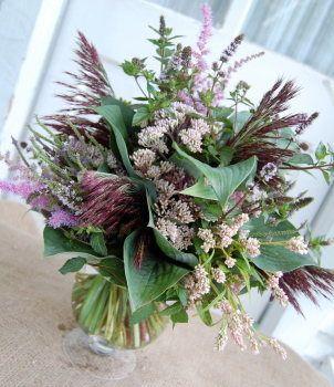 Flowers to Share, Grasses Vase Arrangement