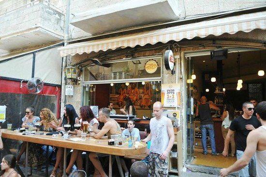 BOLINAT in JERUSALEM - 24u open, 7/7, café/resto en streetparty