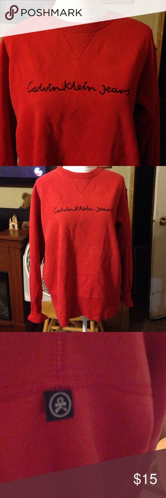 Calvin Klein Jeans oversized sweatshirt. Sz S Calvin Klein Jeans oversized sweatshirt. Sz S Calvin Klein Jeans Tops Sweatshirts & Hoodies