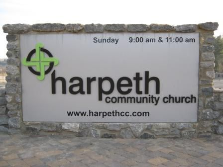 monument sign church - Google Search