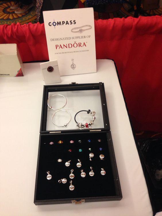 Custom Pandora charms with your company's logo