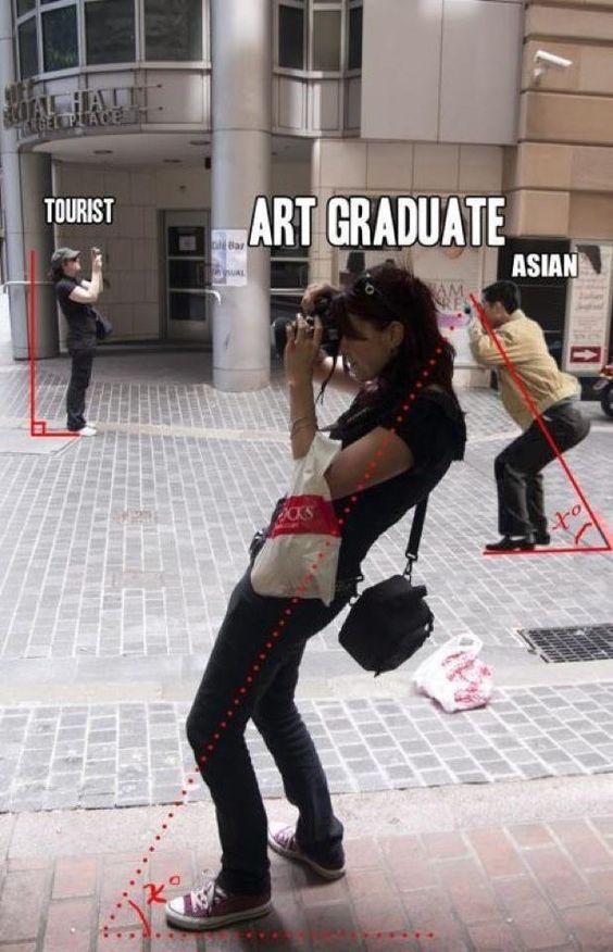 How To Spot An Art Student