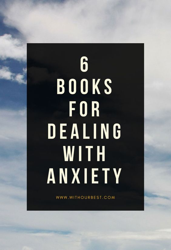 Suffer from anxiety? These are top books for anxiety. I highly recommend them for dealing with anxiety, panic and worry. I am a worry wart - and these have given me skills for mindfulness, relaxation and reversing panic.