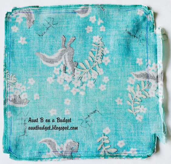 Aunt B on a Budget: Re-Vision: Making or Re-Covering Potholders