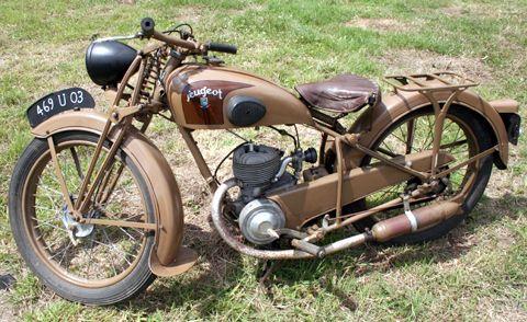 Page 39 1947 Peugeot Confort Model P55c 125cc Sold Old Bikes