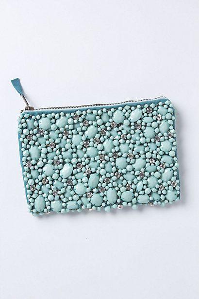 jeweled clutch / anthropologie