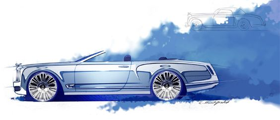 Bentley announce the Mulsanne Convertible Concept - the worlds most elegant and sophisticated convertible.