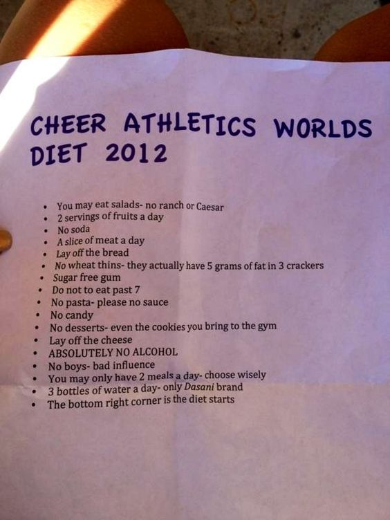 Even though I ain't a cheerleader imma try this and see how much weight I loose while I exercise...