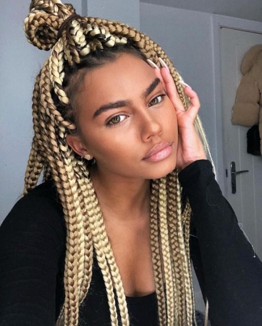 9 Tumblr Box Braids Hairstyles Hair Styles Box Braids Styling