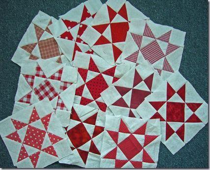 rood-witte-sterren met evt witte blokken ertussen