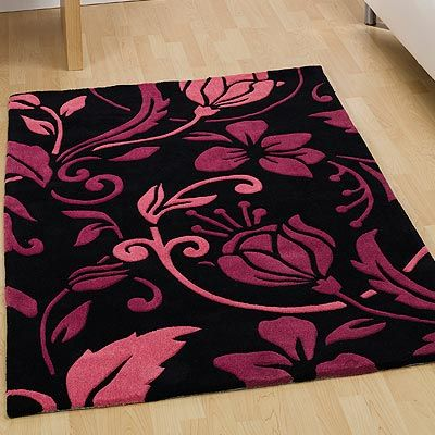 Neiman Marcus Pink Livingroom | BLACK WHITE DAMASK RUG | Rugs Sale