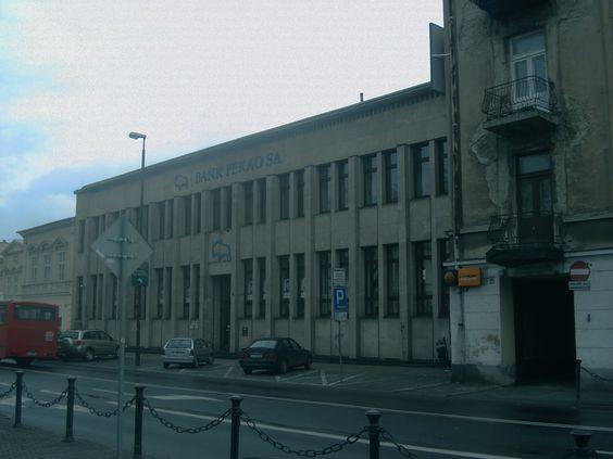 Lublin//Gmach Banku Gospodarstwa Krajowego przy…