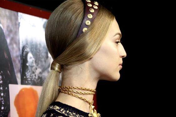 valentino spring 2014 headband | allure.com