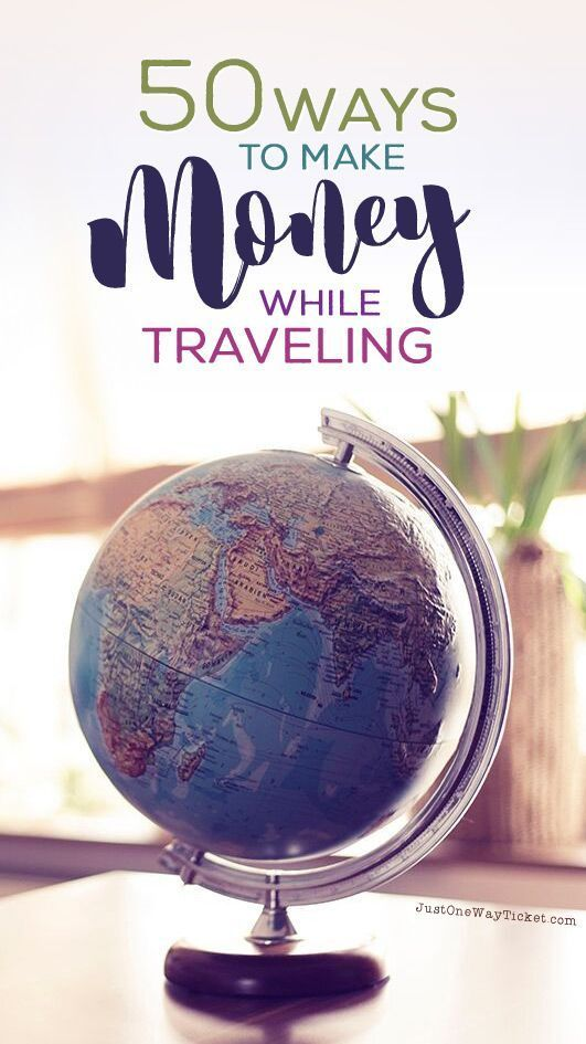 The Best Travel Jobs   50 Ways To Make Money While Traveling The World   You want to work and travel? Pack your bags! Here is the most extensive list of the best traveling jobs in the world   Photo  Melanie Mecking   Das Lichtmdchen   via @Just1WayTicke