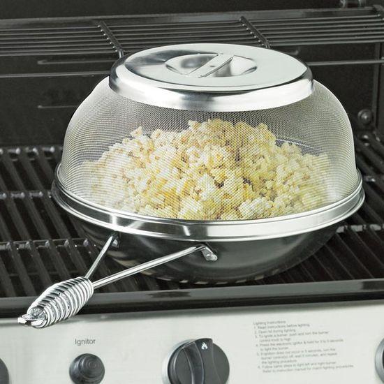 sartén para popcorn