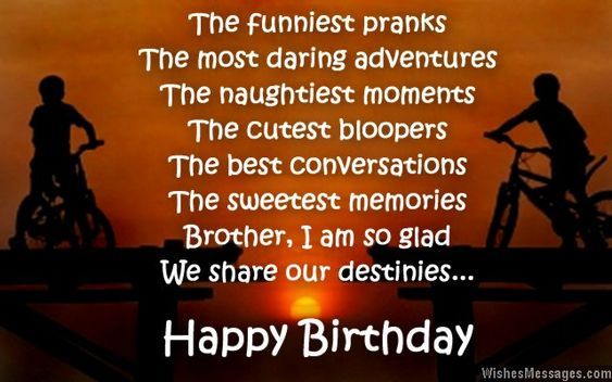 Best 25 Birthday wishes for brother ideas – Birthday Greetings to Brother