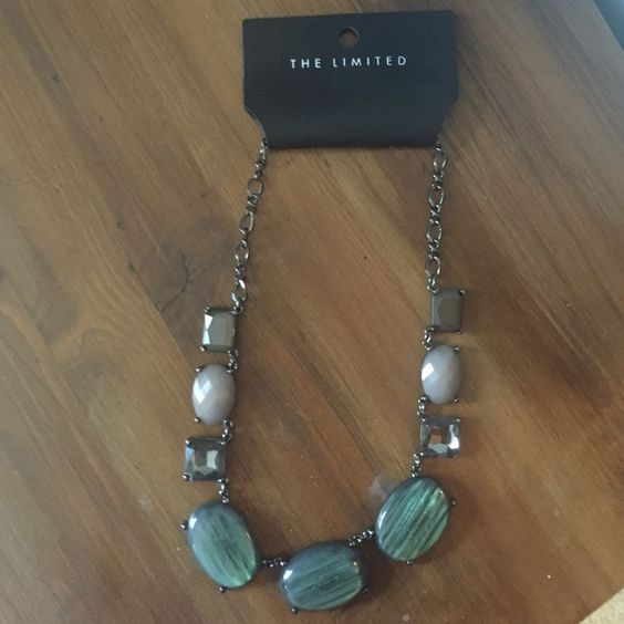 The Limited Statement Necklace Brand new with tags. Gorgeous for Fall and Winter. Can be worn with some practically anything with the beautiful colors it holds. Adjustable length.  paid full price for this do you are getting a steal! The Limited Jewelry Necklaces