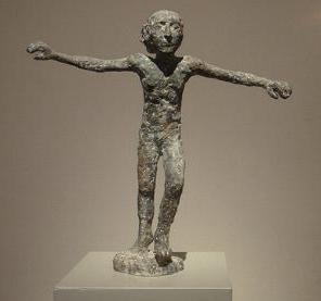 An Gret Palucca, 1989, 44 h, Bronze 6/6 Emerita Panswova