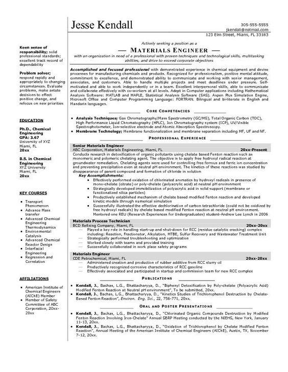 Doc.#: Sample Resume for Environmental Engineer – Top 8 ...