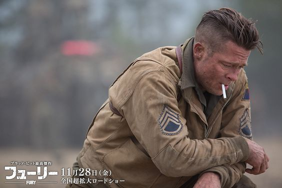 David Ayer Writes And Directs Film Set In Germany During The Final - New official trailer fury starring brad pitt
