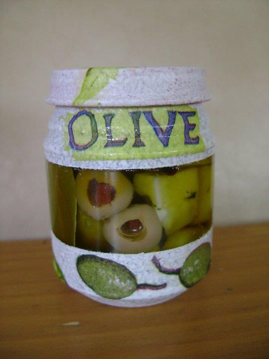 cheese in olive oil