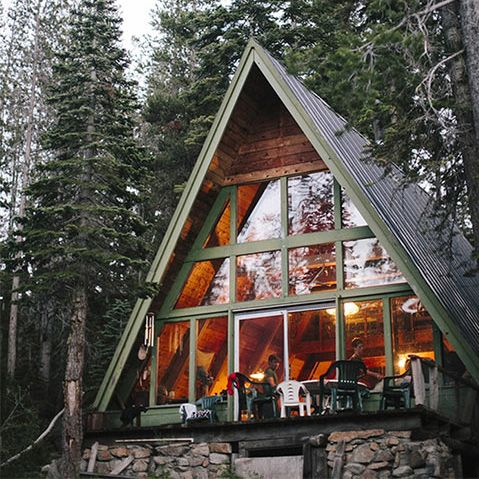Incredible Bungalows To Drool Over Architecture A Frame Cabin Building A Small Cabin