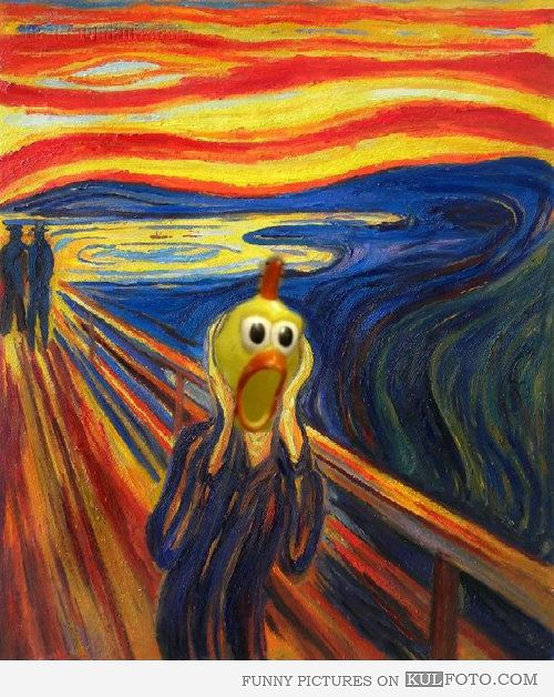 the features of expressionism in munchs painting the scream