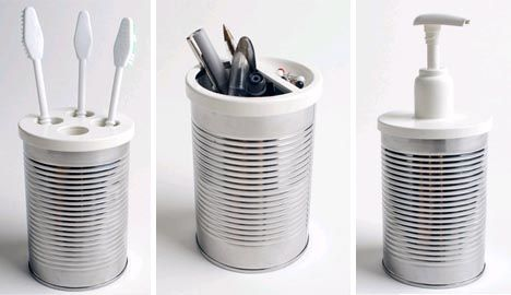 Creative Recycling: Old Tin Cans into Functional Furnishings