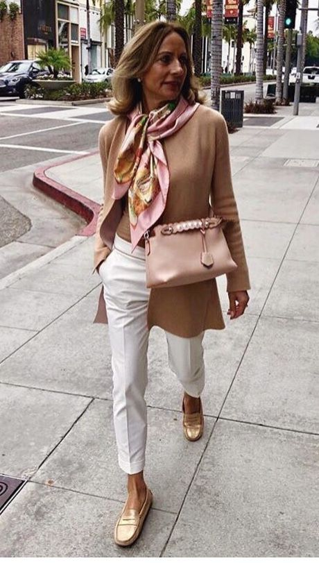 Women Clothing - love some more silky scarves