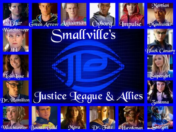 Smallville's Justice League and Allies by GarciaPenelope ...