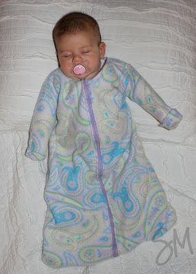 Diy Sleepsack Hurray Sleep Sewing Projects