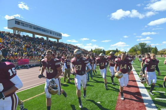 For the first time since 1986, the Cobbers defeated the Johnnies (31-21) at Jake Christiansen Stadium in Moorhead, Minn., during Family Weekend 2012. #cordmn #football #midwest