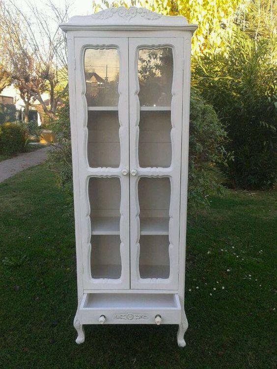 En decora muebles vas encontrar vitrinas a la venta con - Muebles estilo provenzal ...